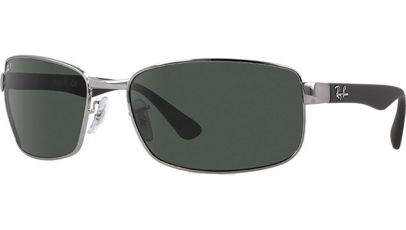 Ray-Ban Sunglasses RB3478 004/58 Gunmetal Frame/Green Polarized Lens