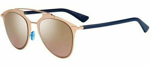 Christian Dior REFLECTED rose gold blue/gold shaded mirror (321/0R) Sunglasses