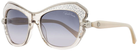 Roberto Cavalli Sunglass - RC981S 80B 56MM Cat-Eye Style with Grey Gradient Lens