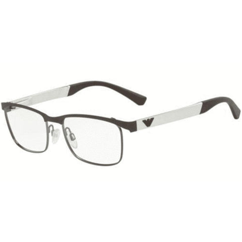 Emporio Armani Eyeglasses Rectangle Frame Demo Lens