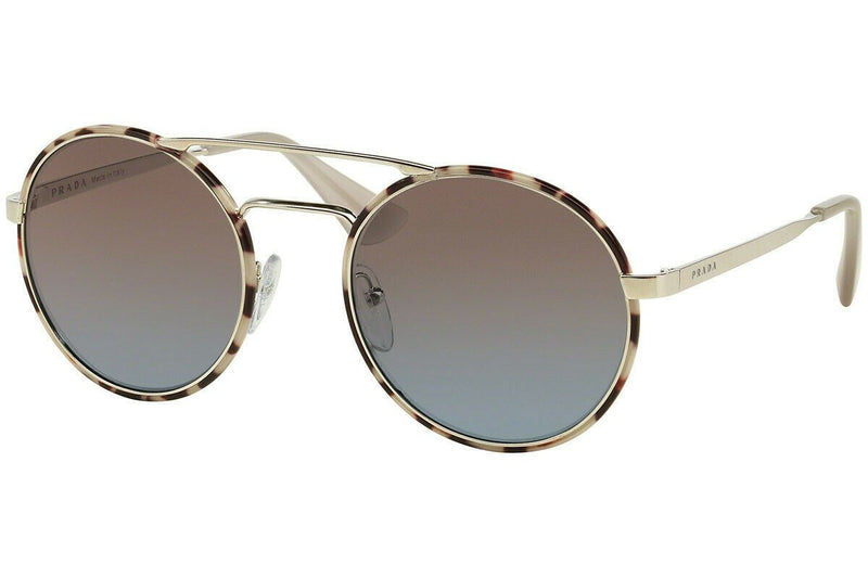 NEW Genuine Prada PR51SS UAO4S2 54 Silver Havana Womens Sunglasses Glasses