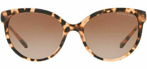Michael Kors Sunglass MK2052 315513 Abi Cat Eye Style - Peach Tortoise Color Light Brown Gradient Lens