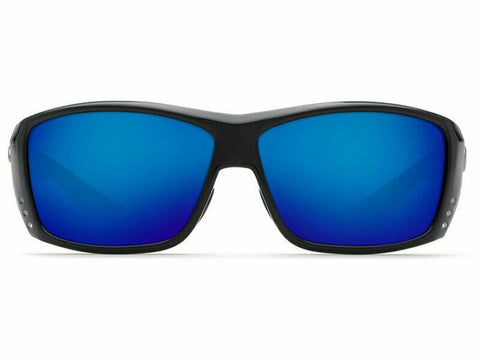Costa Del Mar CAT CAY Shiny Black 580G Blue Mirror Glass | AT 11 OBMGLP