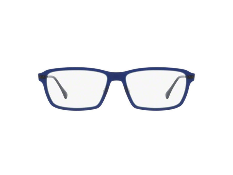 Ray-Ban Eyeglass Square Style Navy Blue Color Demo Lens - RX7038 5451 55mm