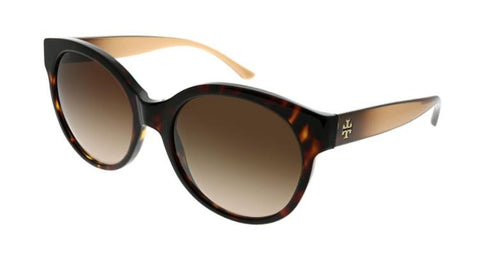 Tory Burch Sunglasses TY7123 Dark Tortoise Brown 1728/13 New Authentic
