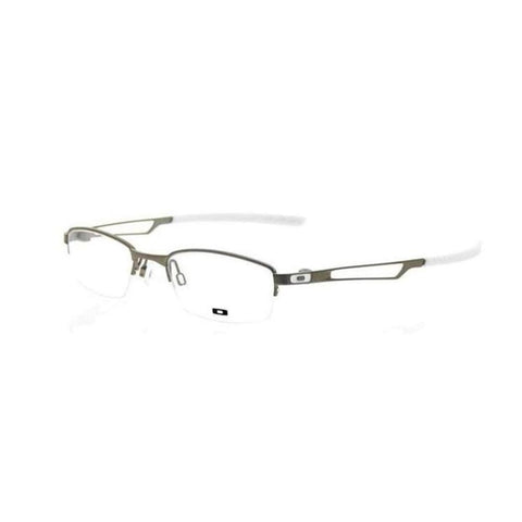 OAKLEY RX Eyeglasses New Oph Halftrack 50 Silver White  OX3109 0550