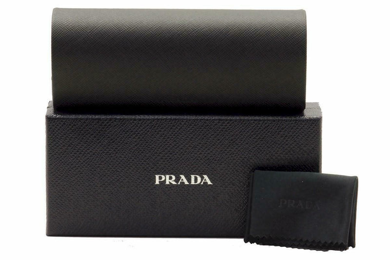 Prada Eyeglass Square Style PR54SV DHO1O1 52 | Brown Silver Color Demo Lens