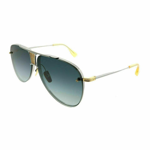Dita Sunglass Decade Two Aviator Style Black Palladium-18k Gold | DRX-2082 A-SLV-GLD