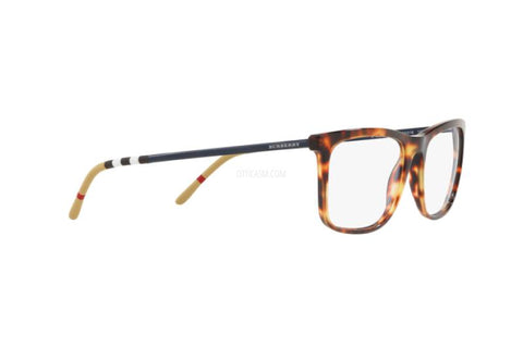 Burberry Men Eyeglasses BE2274 3716 55 Havana Frame / Demo Lenses