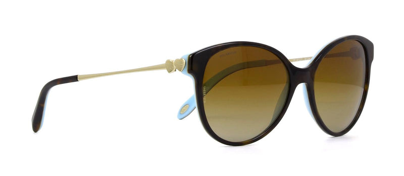Tiffany & Co Sunglass - Cat Eye Style Brown Gradient/Polarized Lens - TF4127 8134T3 56MM