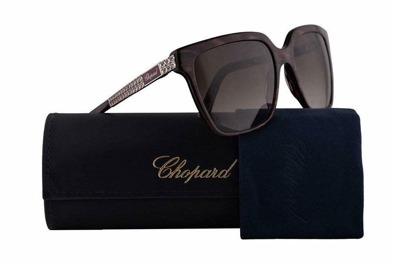 Chopard Sunglass SCH208S 0VAC 56 Square Style | Brown Gradient Lens