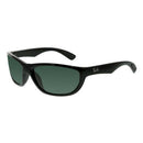 Ray Ban RB4188 601/71 63 Active Sport Sunglasses Black Gloss Frame Green Lens
