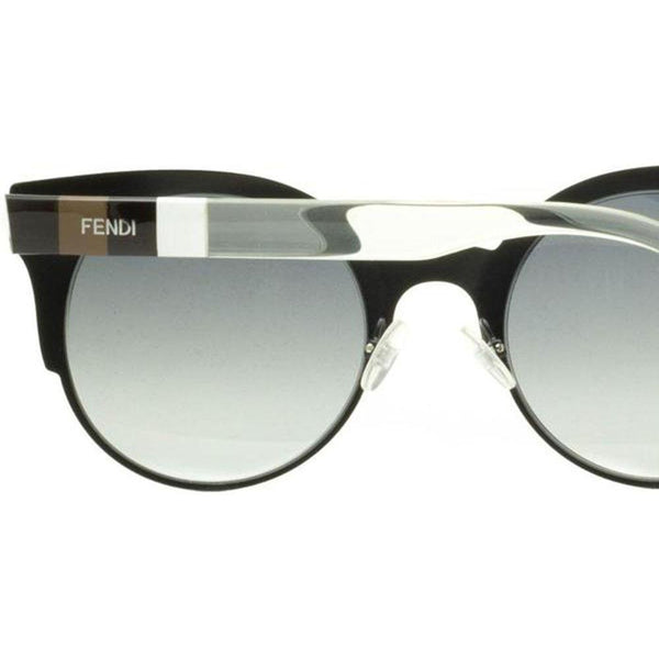 Fendi Sunglasses Cat Eye Style Grey Gradient Lens