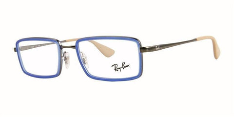 Authentic Ray Ban Eyeglasses RX6337 2620 51MM Blue Beige Frame 51MM Rx-ABLE
