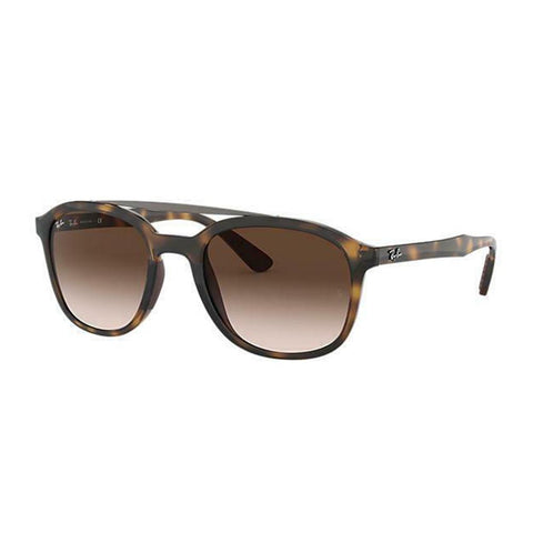 Ray Ban Pilot Style Sunglasses W/Brown Gradient Lens