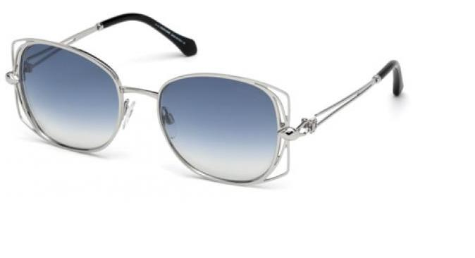 Roberto Cavalli Sunglass - RC1031/S 16X Square Style Frame with Blue Gradient Lens