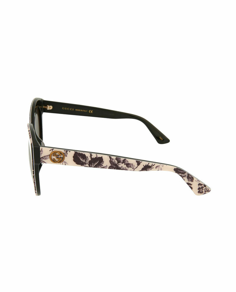 Gucci Sunglass Cat Eye Style with Smoke Lens - GG0028SA 30001009 009