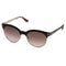 Tom Ford sunglass round style shiny black color - Brown gradient lens TF438 01F 53mm