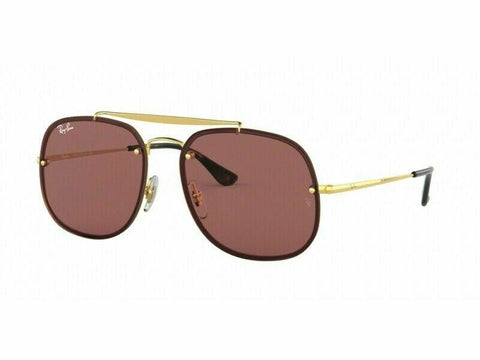 Ray Ban Sunglasses RB3583N 001/75 58 Blaze Brown Gold  Authentic