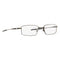 New Oakley OX3136 RX Eyeglasses Frame Pewter OX3136-0353 53mm Rectangle Wire Sq