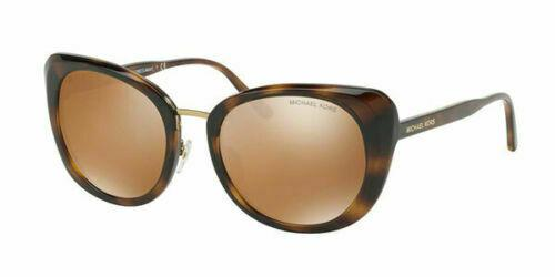 Michael Kors Sunglass - MK 2062 32852T 52 Round Style Havana / Brown Color Sunglass