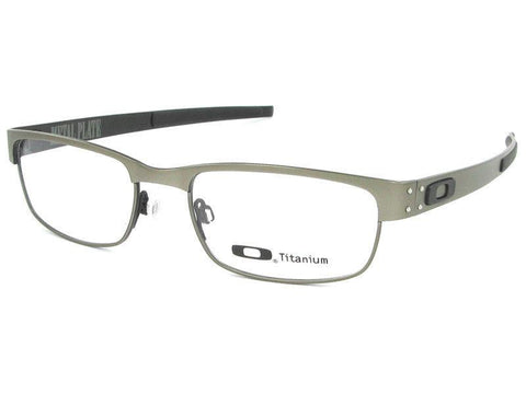Oakley Men Rectangular Eyeglasses Gunmetal Frame OX5038 22-200 53mm