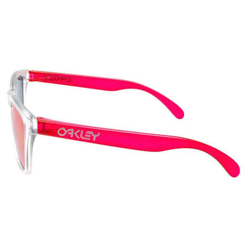 Oakley Frogskins OO9245-5254 Sunglasses Matte Clear w/ Torch Iridium Lens