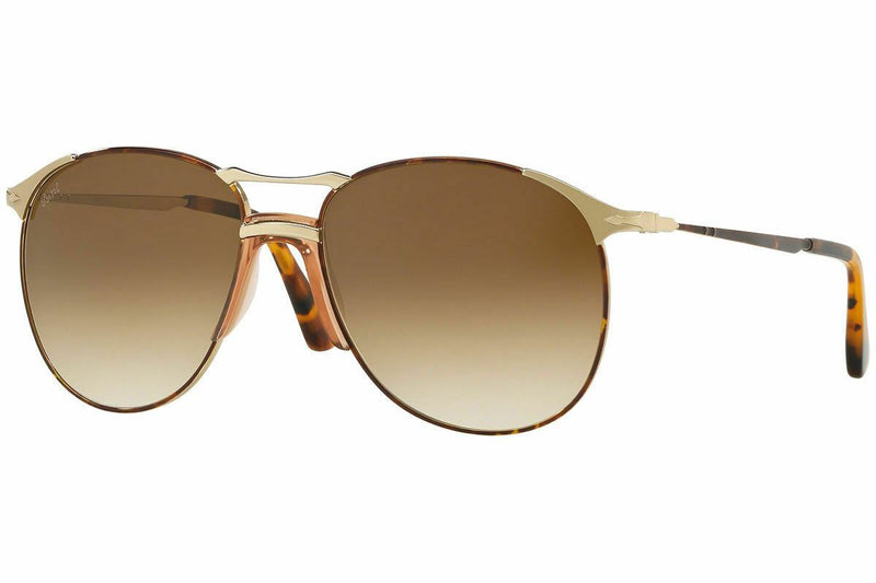 Persol Sunglass PO2649S 1075/51 55 Aviator Style | Havana Color Brown Lens