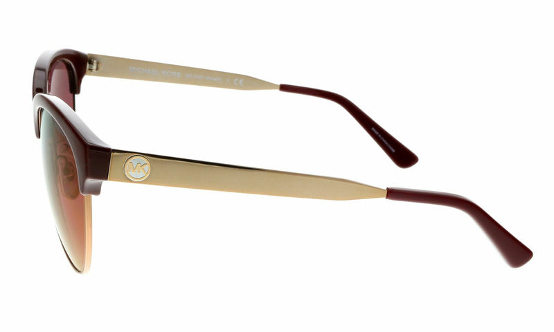 Michael Kors Sunglass MK2057 3307D0 Amalfi Cat Eye Style | Merlot/Sable Frame Color