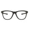 Oakley Eyeglass - Grounded Square Style Having Satin Black O-Matter Frame- OX8070-0653