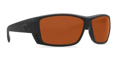 Costa Del Mar sunglasses Cat Cay Blackout Copper 580P Plastic Lens AT01 OCP