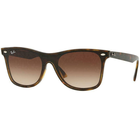 New Ray-Ban Blaze Wayfarer sunglasses RB4440N 710/13 41MM Tortoise Brown