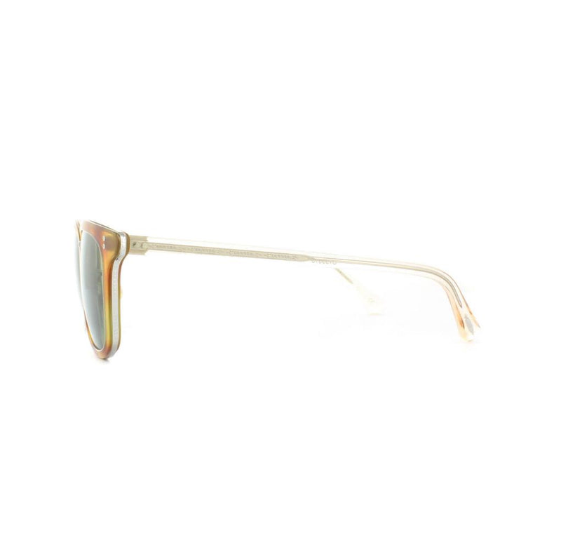 Oliver Peoples Sunglass Square Style Semi Matte LBR Color Green Lens | Kettner OV5339S 157252 52