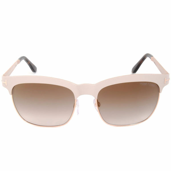 Tom Ford Sunglasses TF0437 74F 54MM Elena Pink Retro Oversized Fashion Square