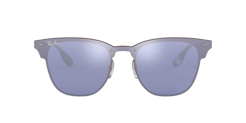 Ray Ban Sunglasses Blaze Clubmaster Bronze Copper Dark Violet RB3576N 90391U 47