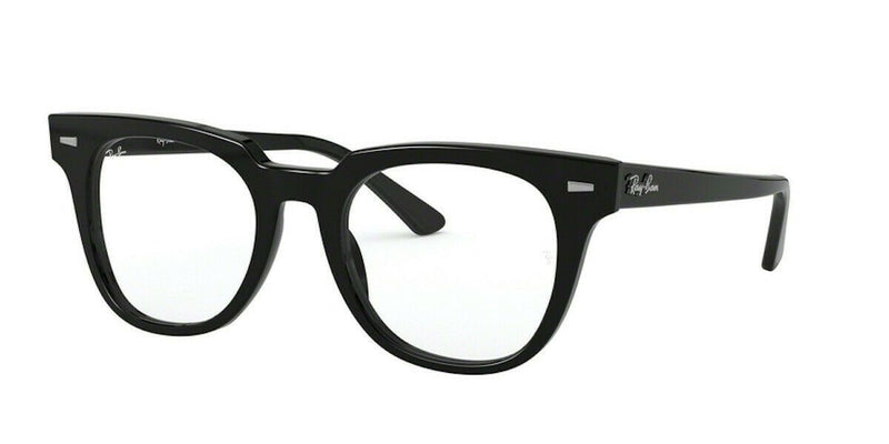 Ray-Ban Eyeglass - Square Style Havana / Grey Color Eyeglass RX5377F 5909 52