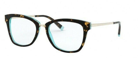 Tiffany & Co. Eyeglasses TF2186 8275 52 Havana/ Crystal Blue  Optical Frame