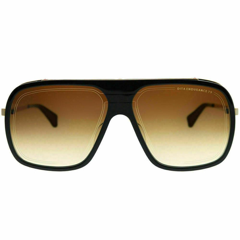 Dita Sunglass Endurance 79 Aviator Style Navy Antique Yellow Gold | DTS104-60-03