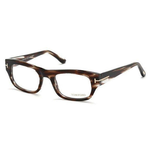 Tom Ford Eyeglass - Rectangular Shape Havana Color Frame Eyeglass - TF5415 050