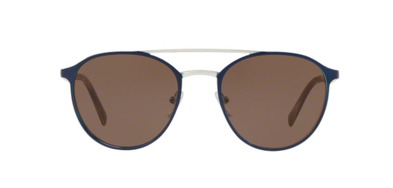 Prada Sunglass Round Style PR62TS KI88C1 54mm - Unisex Sunglass Brown Lens Color