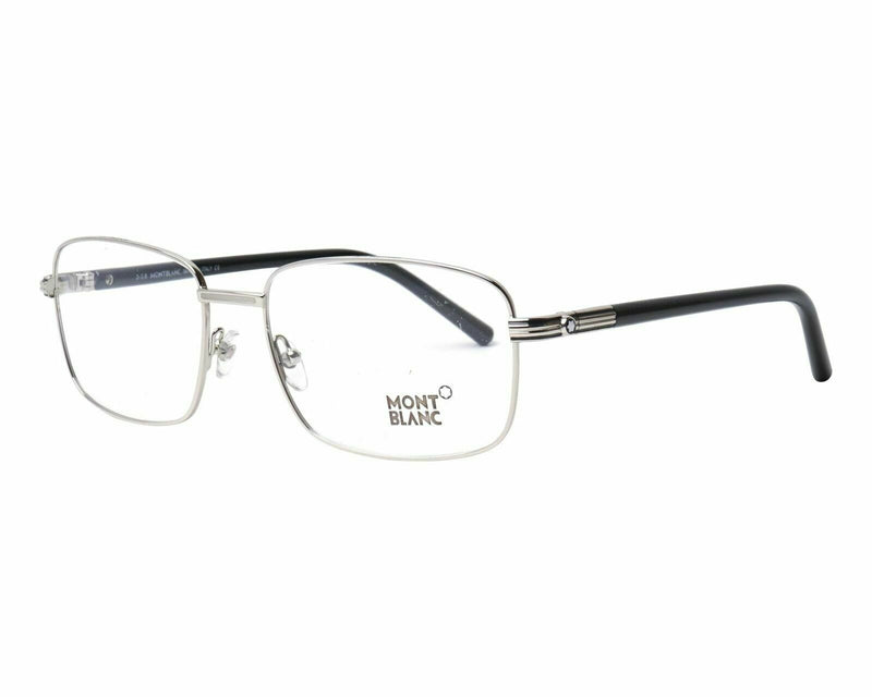 Mont Blanc Eyeglass Pantos Style Silver Frame Color Demo Lens - MB530 016 58