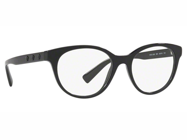 Versace Eyeglasses Unisex Oval Frame Demo Customisable Lens