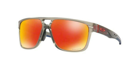 Oakley Crossrange Patch sunglasses Matte Grey Prizm Ruby OO9391 0960 Asian red