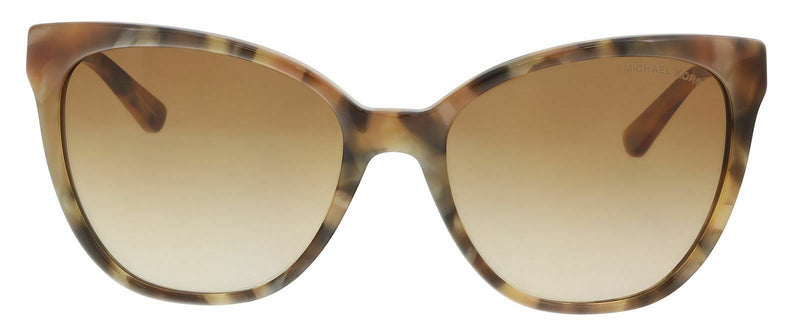 Michael Kors Sunglass - MK2058 331113 55 Cat Eye Style Brown Marble Sunglass