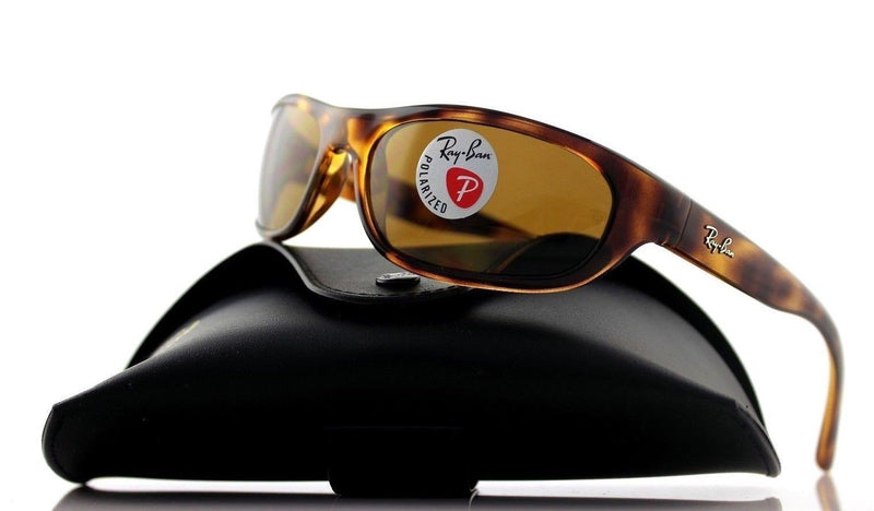 Ray-Ban Sunglass - Rectangular style Tortoise Color Unisex Sunglass RB4033 642/47 60MM