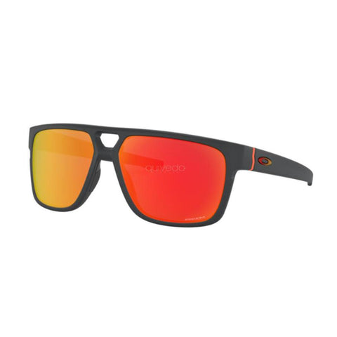 Oakley Sunglasses Crossrange Patch OO9382 2860 Matte Carbon Prizm Ruby