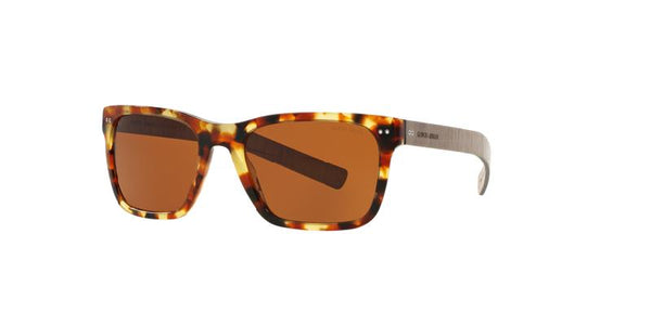 Giorgio Armani Sunglasses Square Style Brown Lens