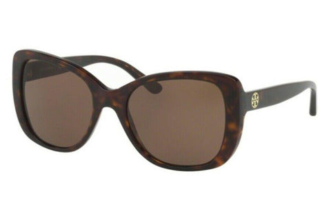 Tory Burch TY7114 1378/T5 53 Tortoise Brown Gradient Polarized Sunglasses