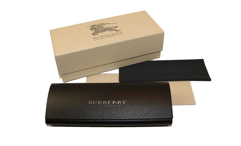Burberry BE4239Q 36637J Pink Havana Plastic Round Sunglasses Gold Mirror Lens