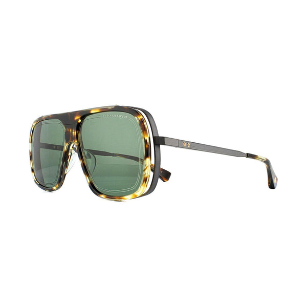 Dita ENDURANCE 79 Sunglasses Blackwood Black Iron G-15 Green Lens DTS104-60-02